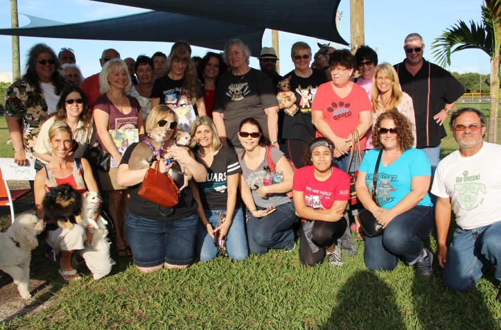 Harley Meet and Greet in Vero Beach, Florida